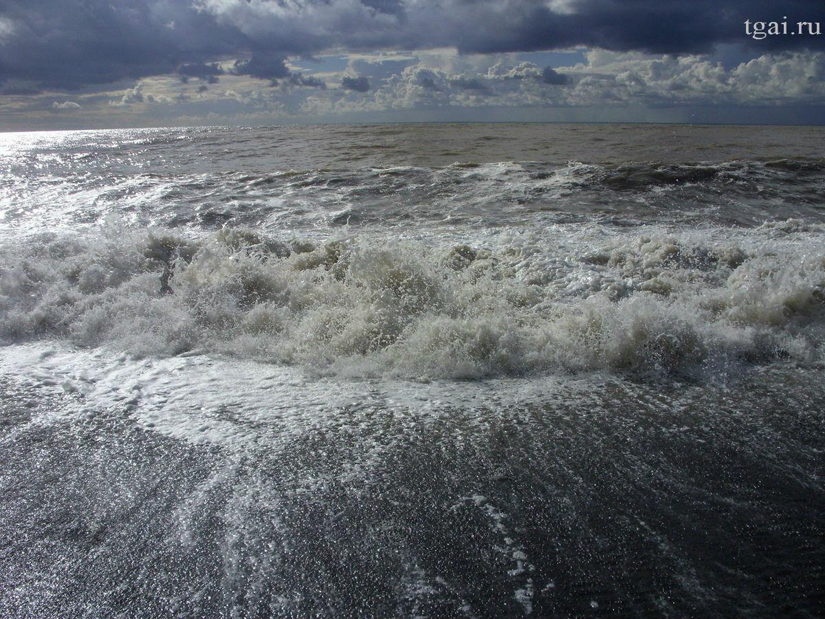 Фото море, волны, шторм