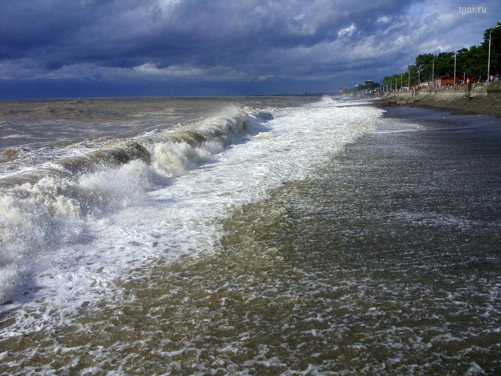 Фото море, небо, волны, песок, пляж