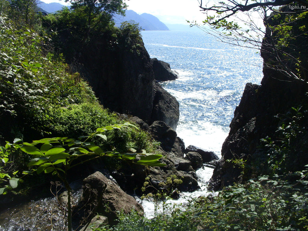 Фото  горы, море