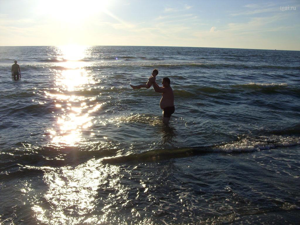 отдых на море, дети на море